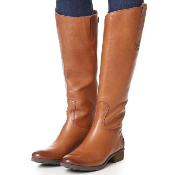 06a68c09ced22f Sam Edelman Shoes - Sam Edelman Penny Riding Boot - Whiskey - Size 7.5